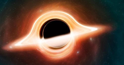Astronomers observe light from behind a black hole for first time