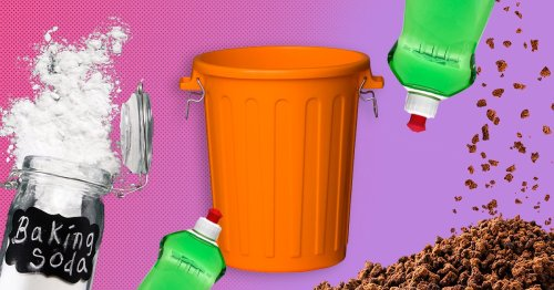 Clever hacks to deep clean your kitchen bin using household items