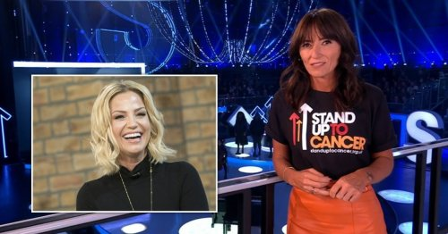 Davina McCall remembers Sarah Harding and her 'great legacy' on Stand Up To Cancer