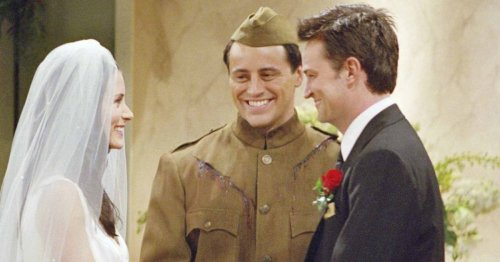 It's 20 years today since Monica and Chandler got married in Friends: How the TV wedding of the 21st century almost didn't happen…