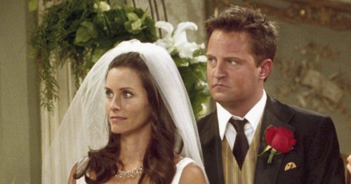 Friends stars Matthew Perry and Courteney Cox are actually 'related'