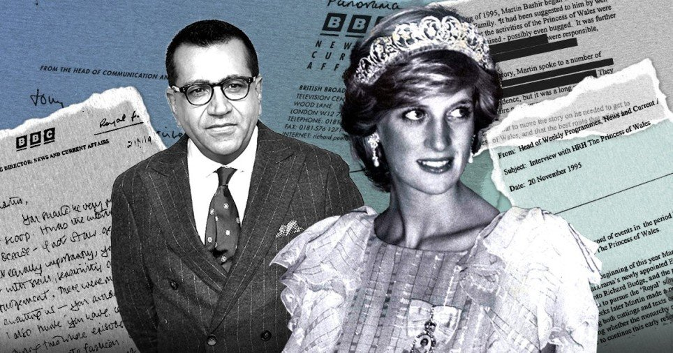 Princess Diana and Martin Bashir: Timeline of the BBC Panorama scandal - cover