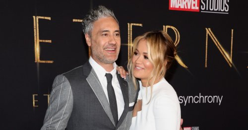 Rita Ora and Taika Waititi put on loved-up display as they attend star-studded Eternals premiere