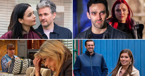 25 soap spoilers: Coronation Street affair twist, EastEnders murder shock, Emmerdale danger, Hollyoaks sick home video
