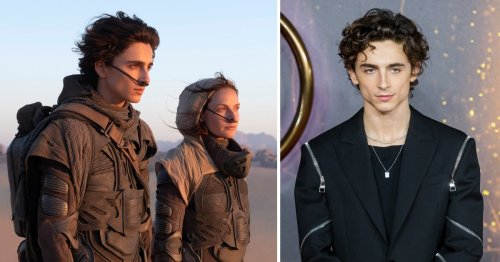 Timothée Chalamet on his 'pinch me' and 'Hans Zimmer thing' moments in Dune