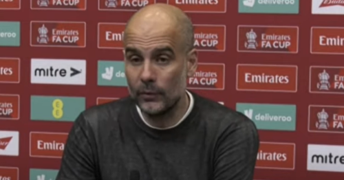 Pep Guardiola gives angry response to question attacking his team selection vs Chelsea