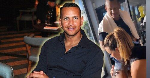 Alex Rodriguez reunites with ex-wife for gym session as Jennifer Lopez gets closer to Ben Affleck