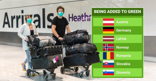 Germany and six other countries added to green travel list