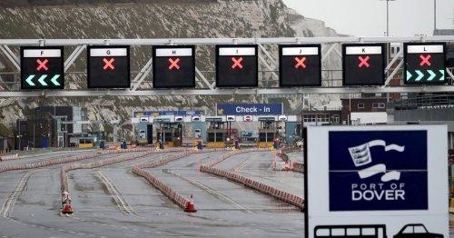 France extends UK border closure until further notice