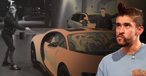 Bad Bunny's $3 million Bugatti vandalised on WWE Raw days before WrestleMania 37 match
