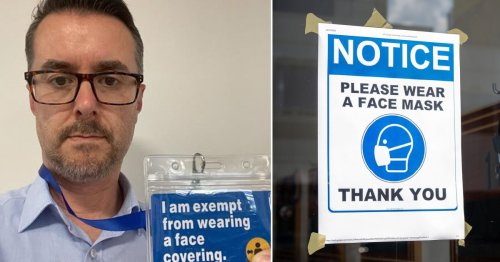 Man with mask exemption due to heart failure told to leave shop