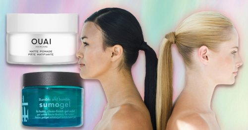 The best products to achieve a slicked-back hair look