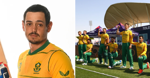 What South Africa star Quinton de Kock previously said about not taking the knee