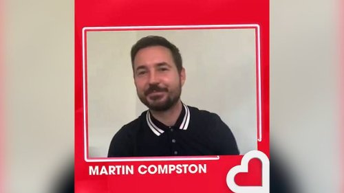 'Not a chance!' Line of Duty's Martin Compston flat out refuses to do Steve Arnott's English accent live on-air
