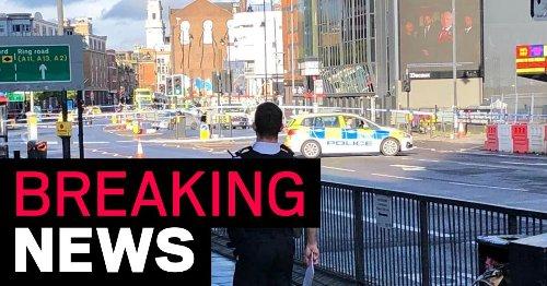 Man stabbed by London eye hospital as police close major road