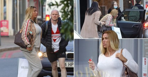 Katie Price hits the shops on break from rehab after drink-drive arrest amid new book revelations