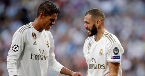 Karim Benzema sends message to Raphael Varane ahead of Manchester United transfer