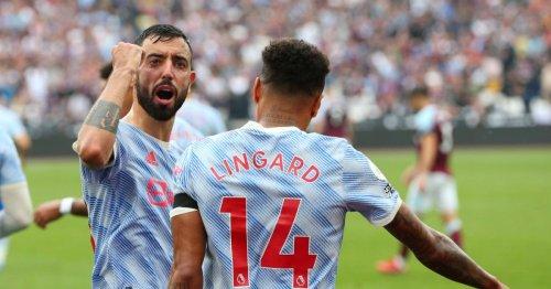 Bruno Fernandes sends message to Jesse Lingard after stunning winner against West Ham