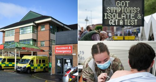 Hospital in Covid hotspot forced to send critically ill patients elsewhere