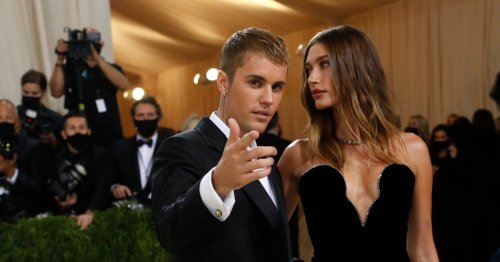 Hailey Bieber is not pregnant, okay? Justin's hand over her stomach on the Met Gala red carpet was just an 'innocent pose'