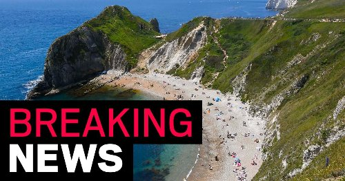 Woman dies after falling 150ft from Durdle Door cliffs