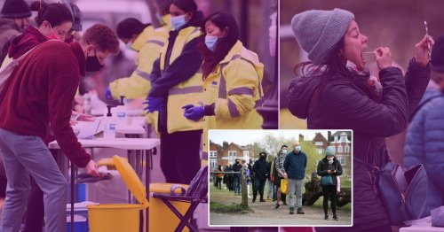 London 'could face local lockdown' if testing blitz doesn't stop mutant Covid