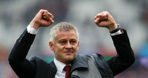 Ole Gunnar Solskjaer reacts to Jesse Lingard's sensational winner against West Ham following midweek mistake