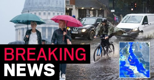 Torrential rain and thunderstorms to batter UK this weekend as warnings issued