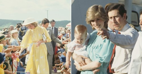 Diana and Charles were mooned by protester on royal tour nearly 40 years ago