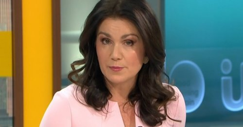 Where is Susanna Reid on Good Morning Britain and when will she be back?