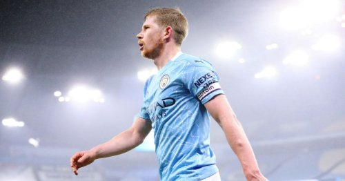 Man City star Kevin de Bruyne named PFA Players' Player of the Season for second season running
