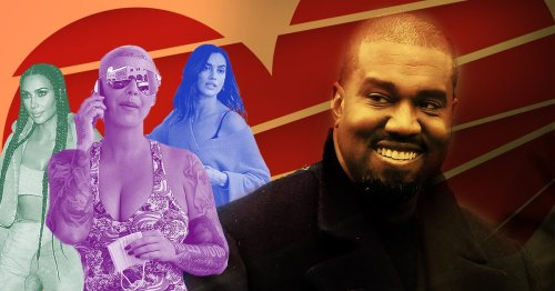 Kanye West's star-studded dating history as he's pictured with supermodel Irina Shayk