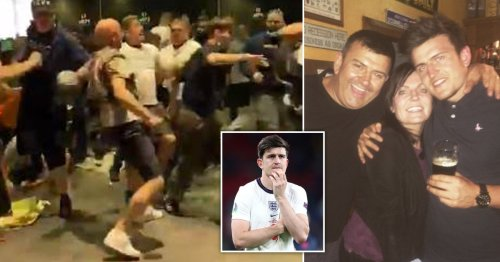 Harry Maguire's dad trampled by ticketless fans at Wembley who crushed his ribs