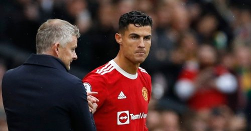 Cristiano Ronaldo 'disappointed' with Ole Gunnar Solskjaer benching decision and tells Manchester United manager to play him in every league game
