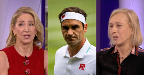 Chris Evert and Martina Navratliova say 'weary' Roger Federer had his 'weaknesses' exposed at Wimbledon