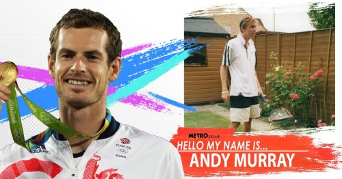 My name is Andy Murray and I play tennis. Yes, really