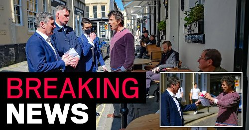Keir Starmer kicked out of Raven pub after angry confrontation with landlord