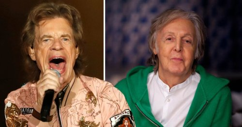 Sir Mick Jagger has a humorous comeback to Sir Paul McCartney's Rolling Stones 'blues cover band' dig