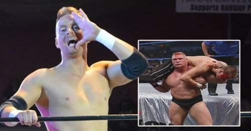 Ex-WWE star Zach Gowen loved 'violent' exchanges with Brock Lesnar and 'special' dynamic they shared
