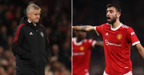 Bruno Fernandes demanded half-time tactical change from Manchester United boss Ole Gunnar Solskjaer against Atalanta