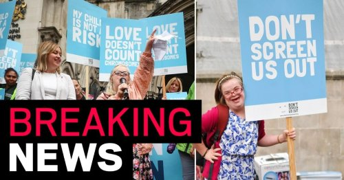 Woman with Down's syndrome loses High Court fight to change abortion law