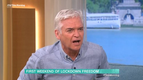 Phillip Schofield slams coronavirus scaremongers in heated row with Matthew Wright: 'How dare you frighten me for another weekend?'