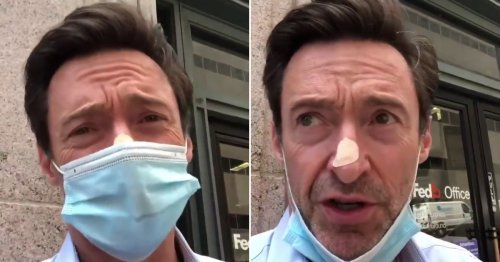 Hugh Jackman has another biopsy on his nose after dermatologists spotted something 'irregular'