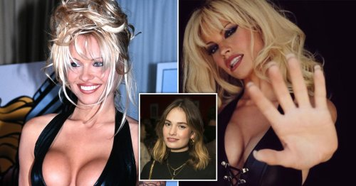 It took up to five hours to transform Lily James into Pamela Anderson
