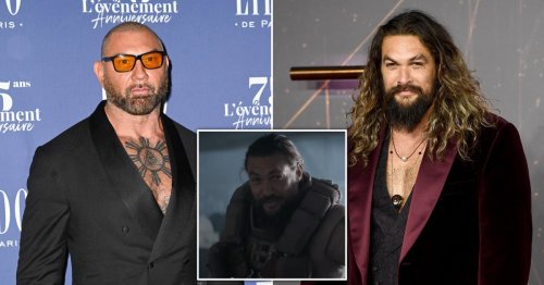 Jason Momoa backs himself in fight against Dave Bautista's character on red carpet for 'favourite ever film' Dune