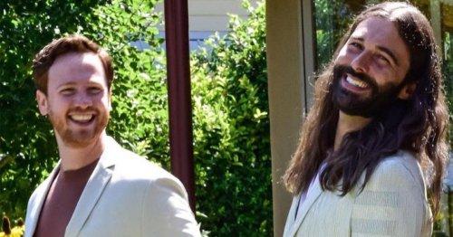 Queer Eye legend Jonathan Van Ness celebrates husband getting his green card