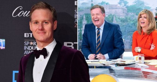 Dan Walker squashes Piers Morgan feud to congratulate former Good Morning Britain rival over new show