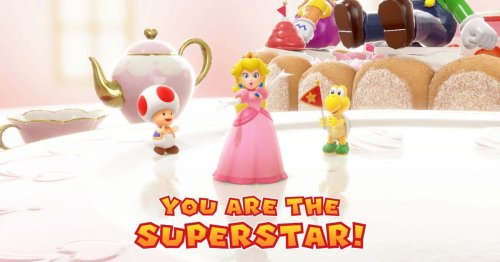 Nintendo issues in-game safety warning for playing Mario Party Superstars