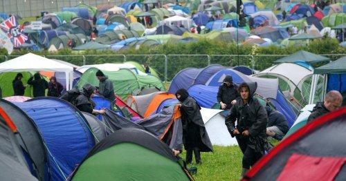 Music fans face great downpour as torrential rain hits Download Festival pilot event