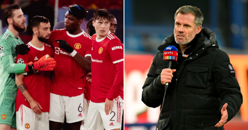 Jamie Carragher explains why he can see Man Utd beating Liverpool